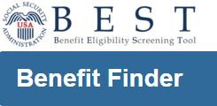 Image of the BEST Benefits Finder logo