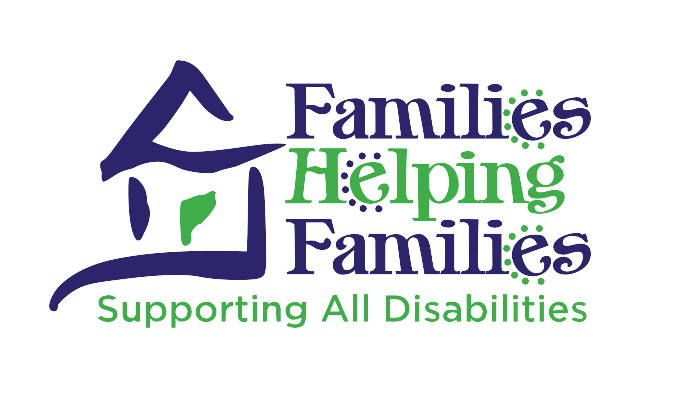 Image of the families helping families logo